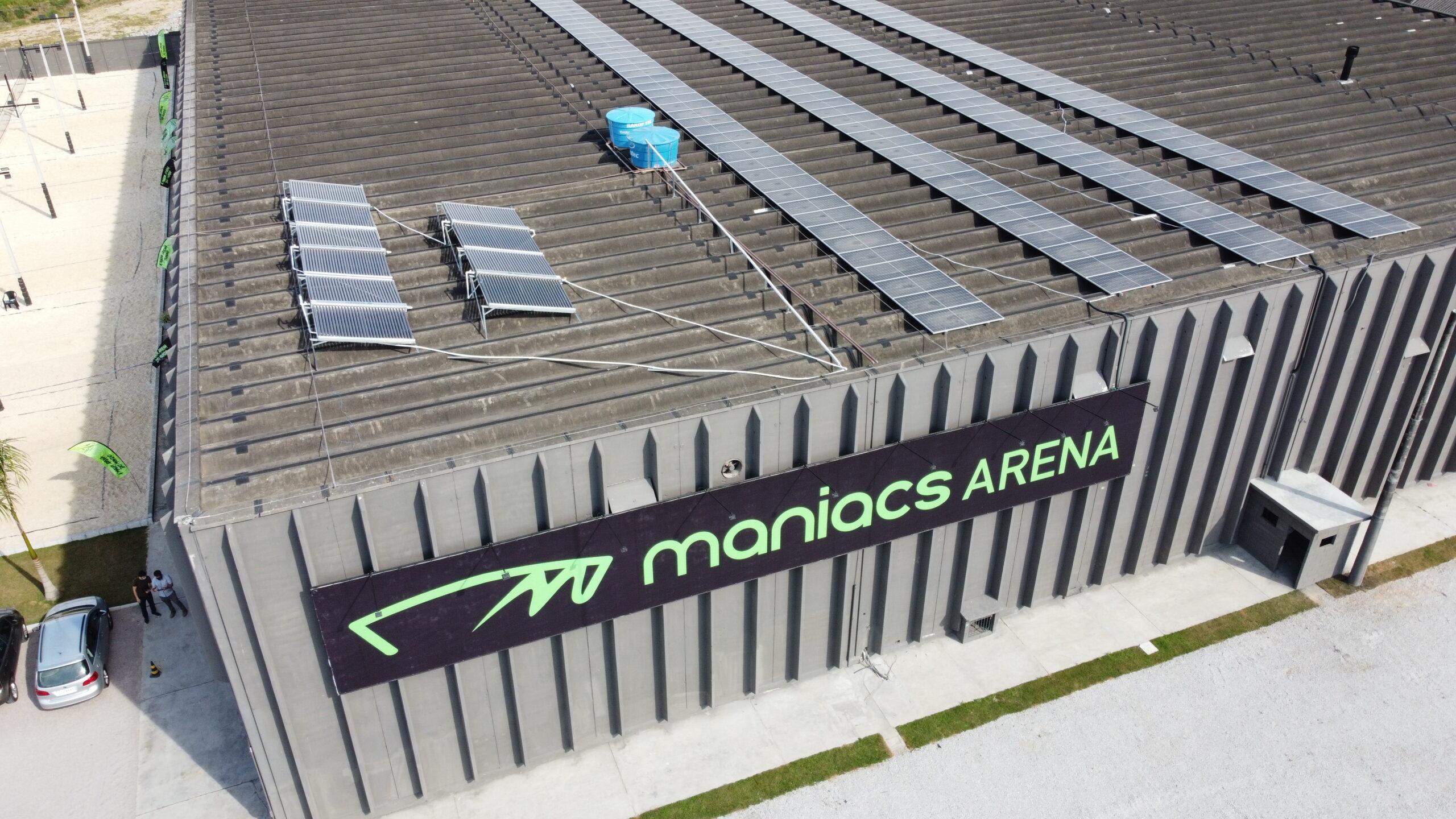 A maior arena esportiva do mundo possui energia solar Sunfox